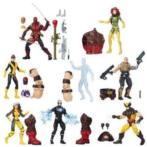 Set of 8 - X-Men Marvel Legends Wave 1