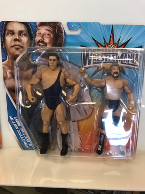 WWE WrestleMania 2-Pack - Andre the Giant and Ted Dibase