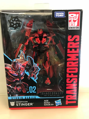 Stinger - Transformers Generations Studio Series Deluxe Class