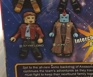 Star-Lord and Yondu - Marvel Minimates Series 71 GOTG Volume 2