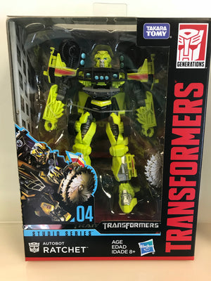 Rathcet - Transformers Generations Studio Series Deluxe Class