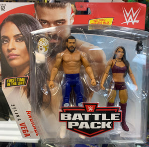 Andrade & Selina Vega - WWE Battle Pack Series 62