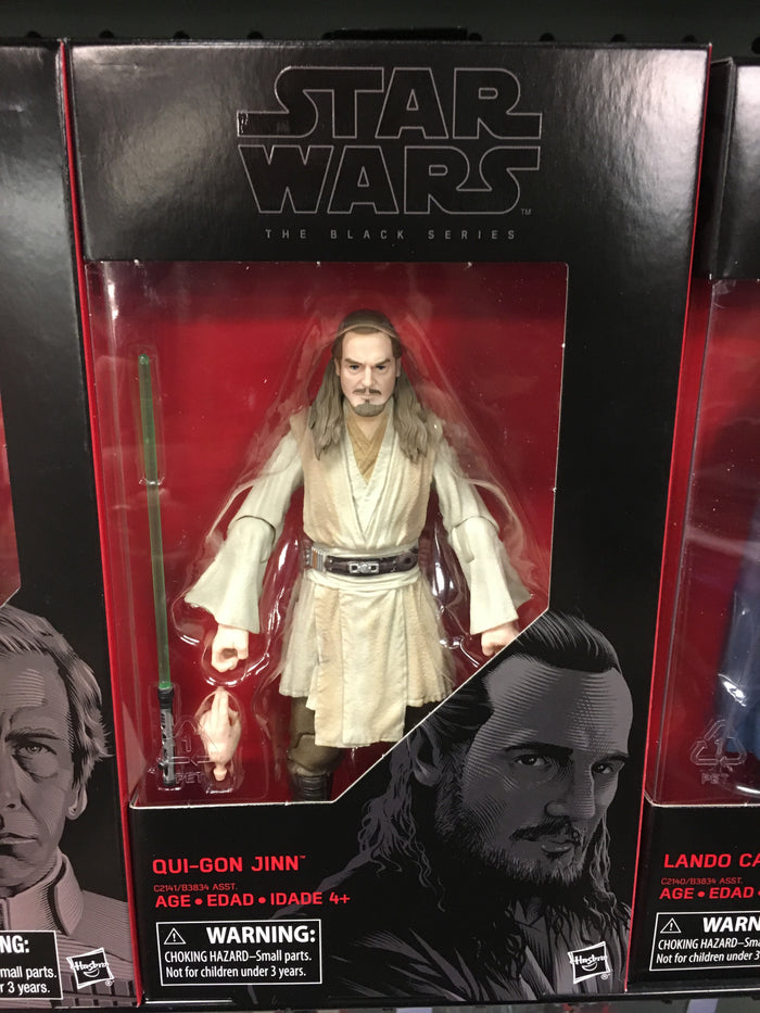 "Qui-Gon Jinn - Star Wars Black Series 6"" Wave 11"