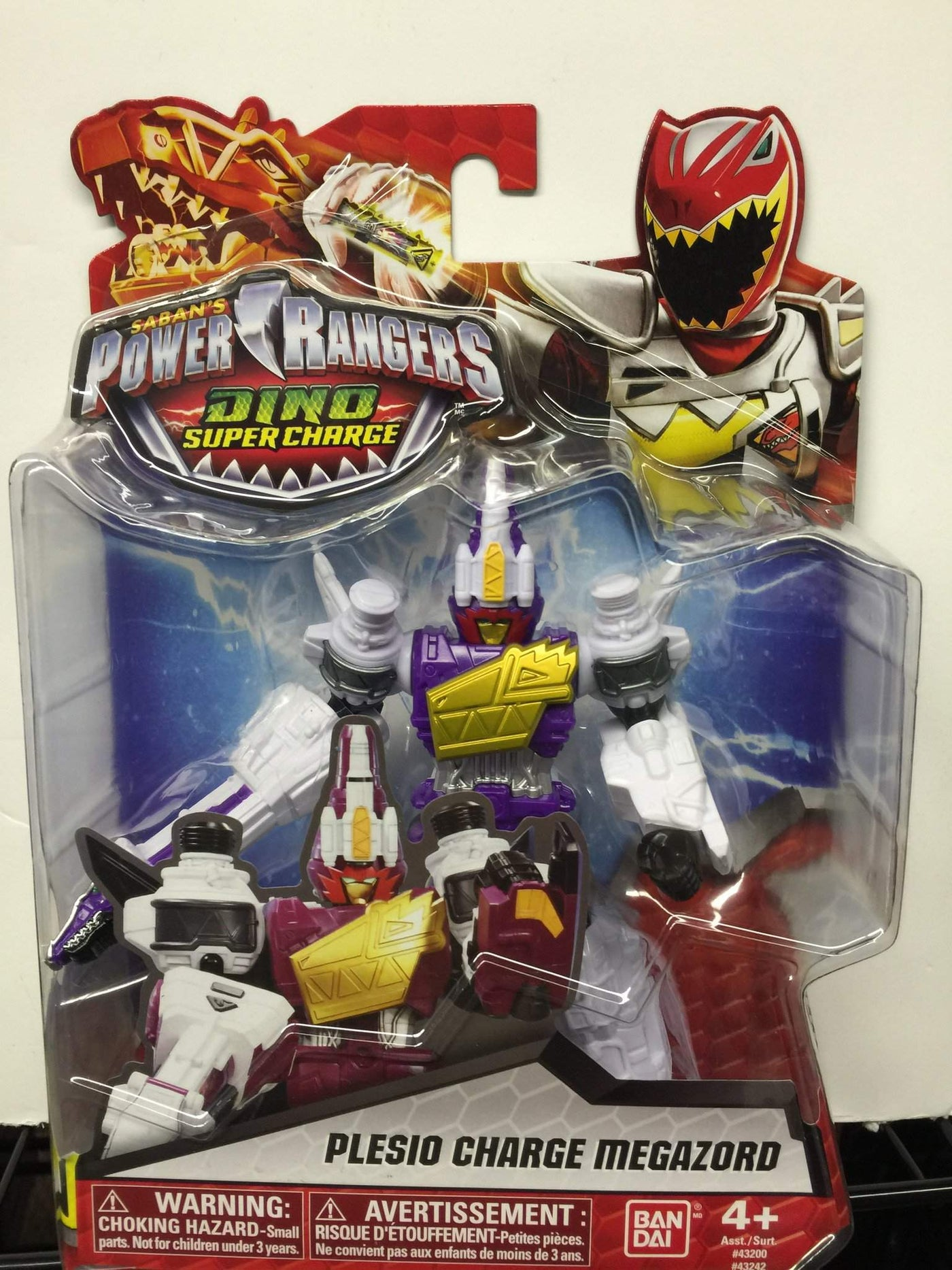 Jouets Et Jeux Power Rangers Dino Super Charge Plesio Charge