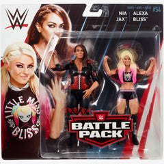 Alexa Bliss and Nia Jax - WWE Battle Pack Series 54