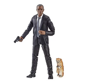 Nick Fury - Captain Marvel Marvel Legends Wave 1 (Kree Sentry BAF)