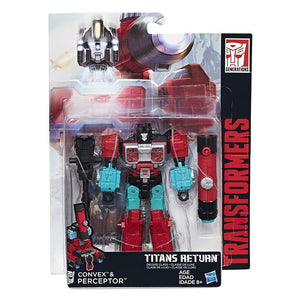 Perceptor - Transformers Generations Titans Return Deluxe Wave 4
