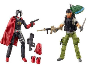 Hunt for Cobra Commander - Shipwreck vs. Cobra Commander - GI Joe 50th 2 Packs