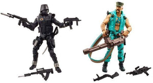 Marine Devastation - Gung Ho vs. Cobra Shadow Guard - GI Joe 50th 2 Packs