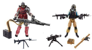 Troop Build Up - Steel Brigade vs. Iron Grenadier - GI Joe 50th 2 Packs