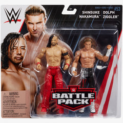 Shinsuke Nakamura and Dolph Ziggler - WWE Battle Pack Series 53