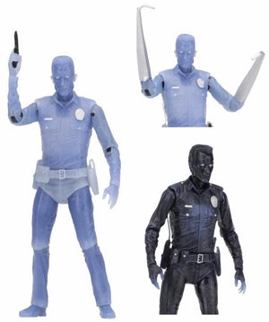 White Hot T-1000 - Terminator 2 Kenner Tribute