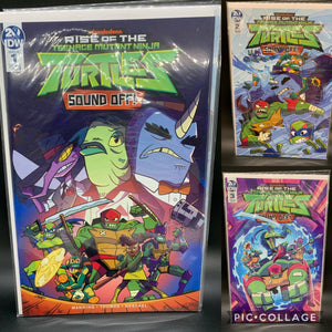 TMNT Rise Of Tmnt Sound Off #1-3 Cover A