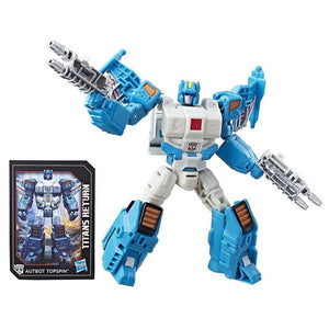 Topspin - Transformers Generations Titans Return Deluxe Wave 4