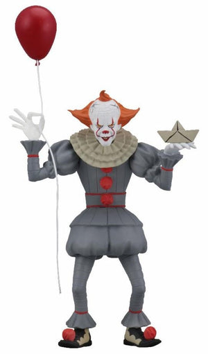 "Pennywise (IT 2018 movie) - Toony Terrors 6"" Scale Action Figure"