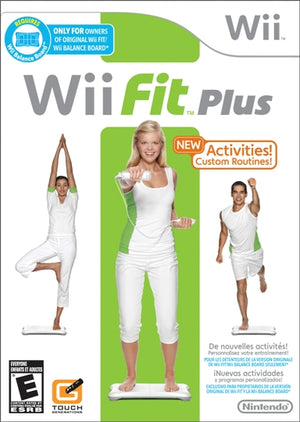 Wii Fit Plus [Disk Only]
