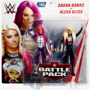 Alexa Bliss and Sasha Banks - Battle Pack Series 60