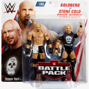 Goldberg and Stone Gold Steve Austin - Battle Pack Series 60