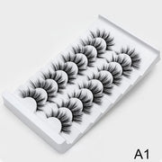 8/20 Pairs 3D Mink Natural Lashes