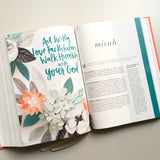 She Reads Truth - Poppy Journaling/Study Bible with Retro Tabs