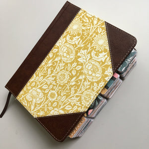 Antique Floral Journaling Bible with Retro Tabs