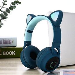 Premium Cat Ear Noise Cancelling Headphones