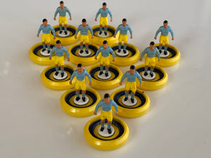 Tchaaa4 VST Bases Blue and Yellow Hand Painted