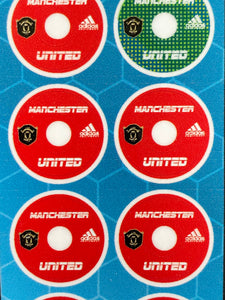 Tchaaa4 Base Stickers Manchester United