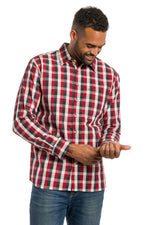 Load image into Gallery viewer, Evergreen | Men's Long Sleeve Button Up Shirt
