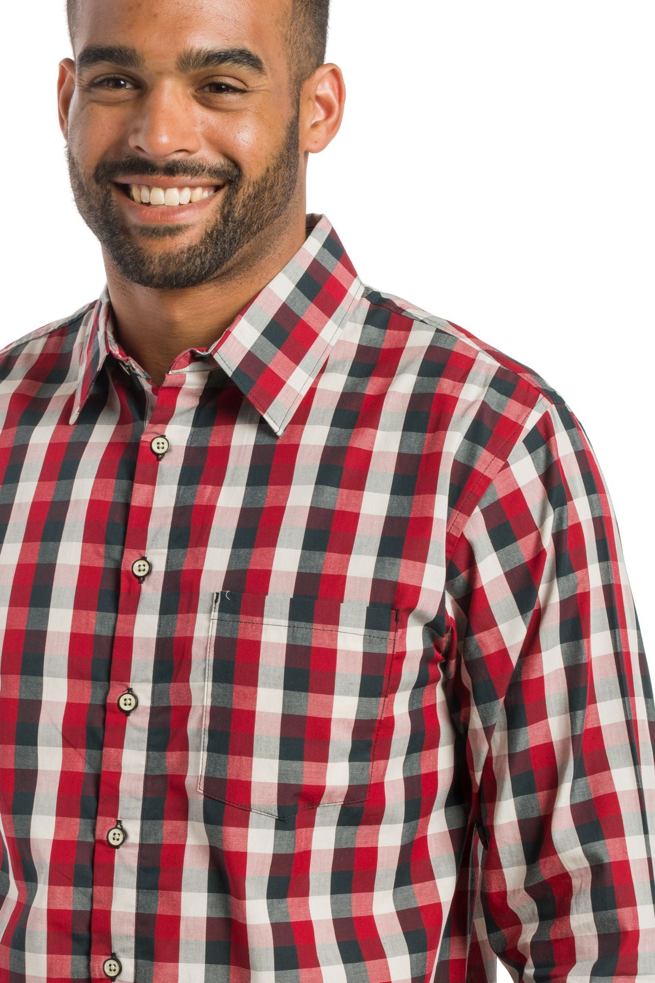 Evergreen | Men's Long Sleeve Button Up Shirt