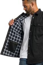 Load image into Gallery viewer, Denmark | Men's Heavy Cotton Shirt Jacket With Snaps