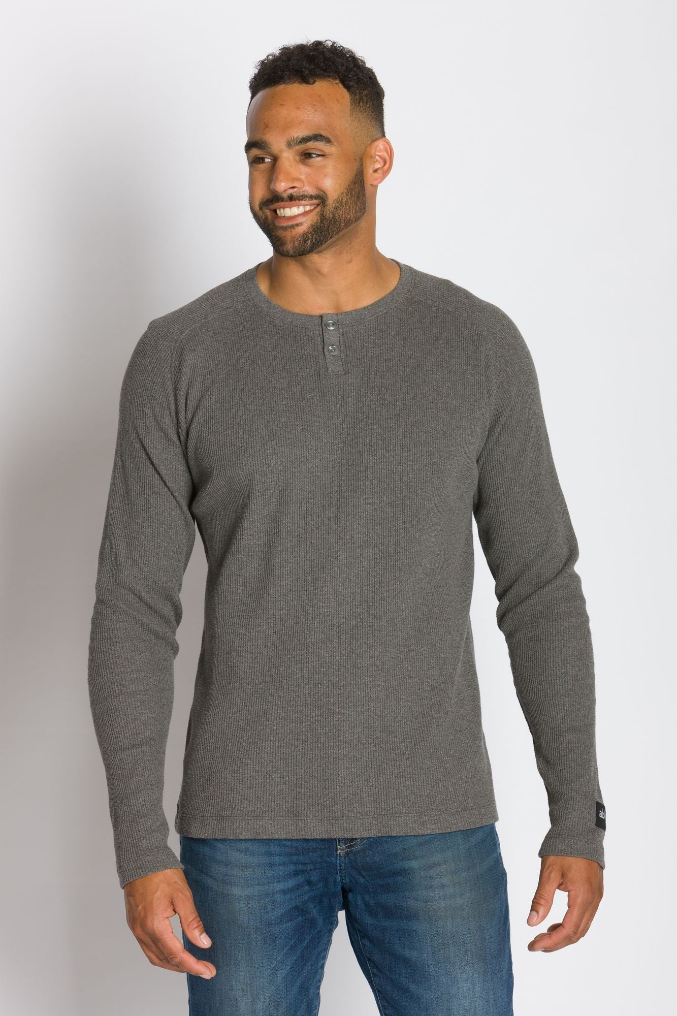 Lyon | Men's Raglan Thermal With Placket