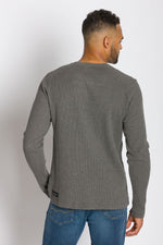 Load image into Gallery viewer, Lyon | Men's Raglan Thermal With Placket