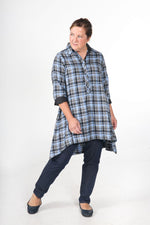 Load image into Gallery viewer, Jasmine | Women's Flannel Tunic Dress
