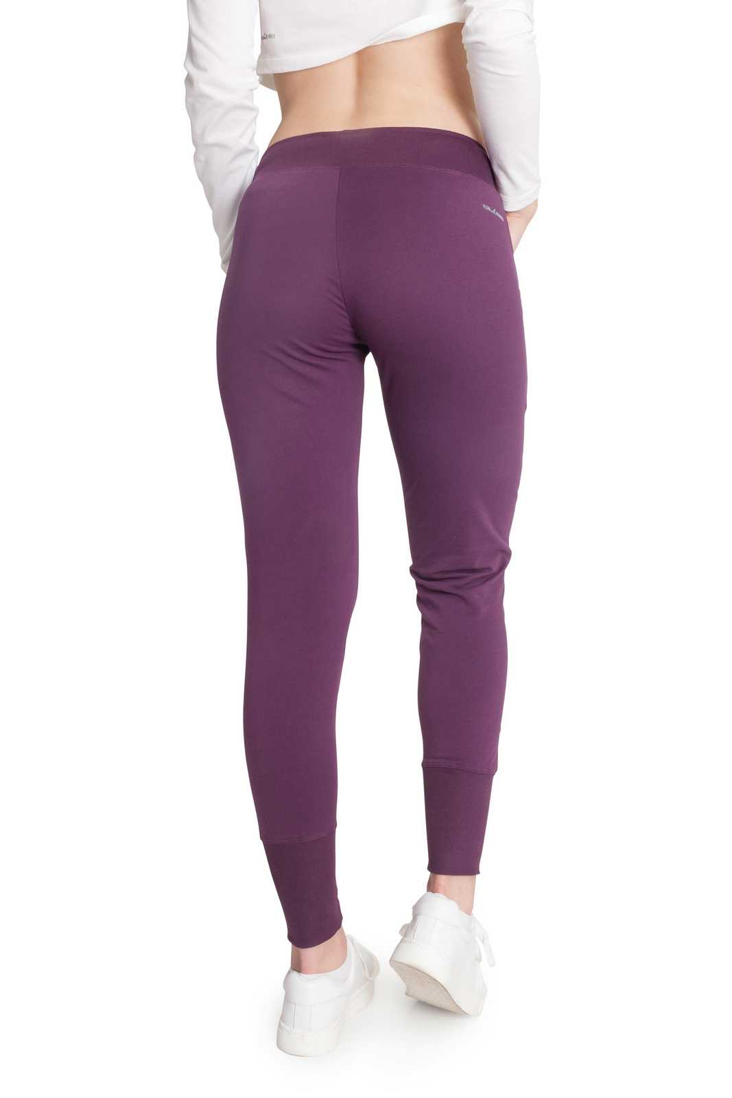 Lilac | Women's Rib Cuffs Sweatpants