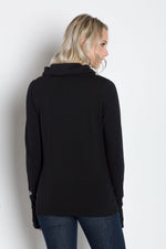 Load image into Gallery viewer, Luna | Women's Cowl-neck Pullover