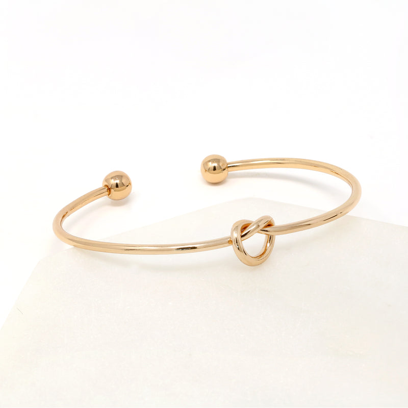 Interlocking Cuff Bracelet