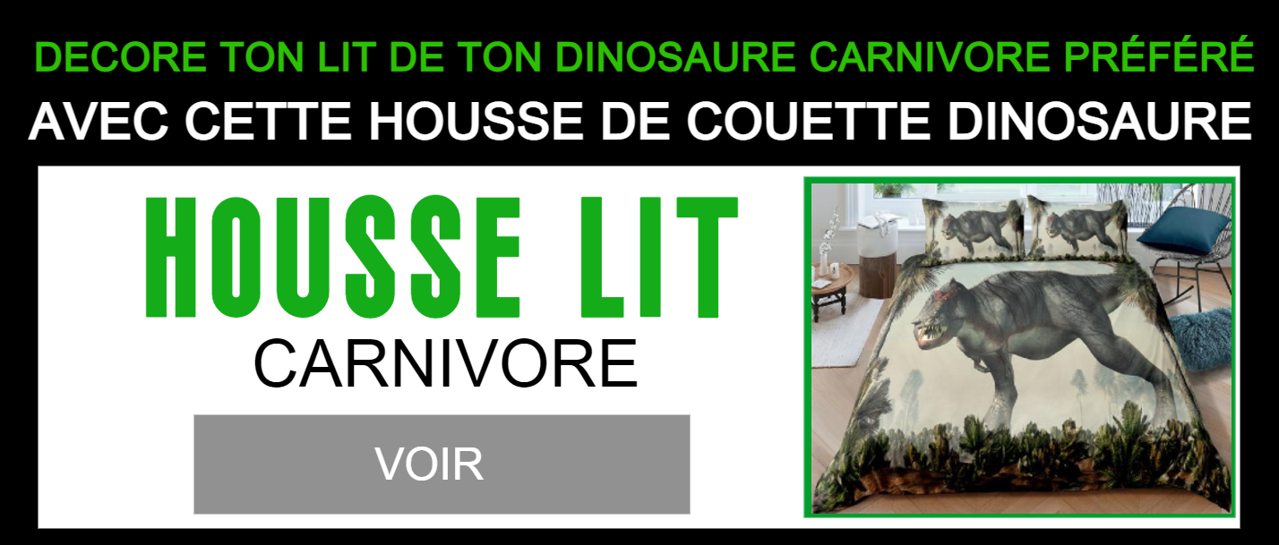 Housse Couette Carcharodontosaurus