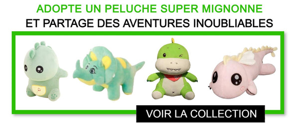 Peluches douces