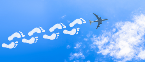 Carbon Emission from Flying and Ecological footprint