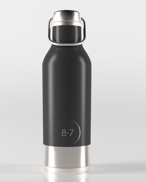 Stainless steal reusable zero waste water bottle