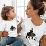 Tee shirt mère fille en vogue