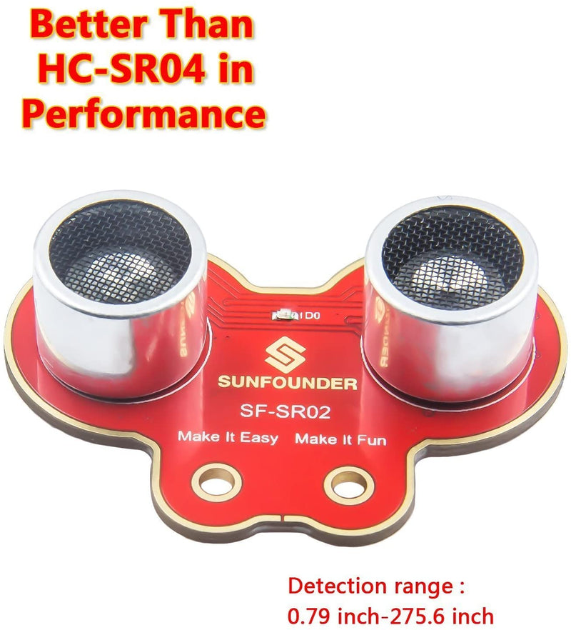 SunFounder SF-SR02 Ultrasonic Distance Sensor Module Kit