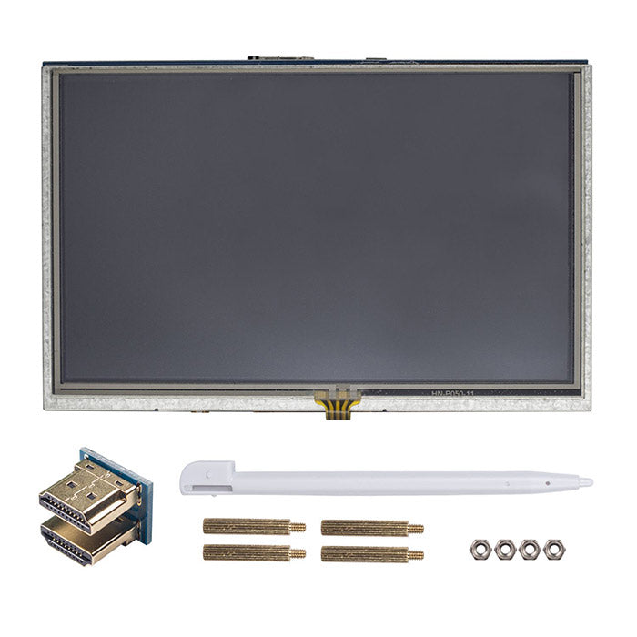 5 Inch HD 800x480 HDMI LCD Touch Screen Monitor for Raspberry Pi