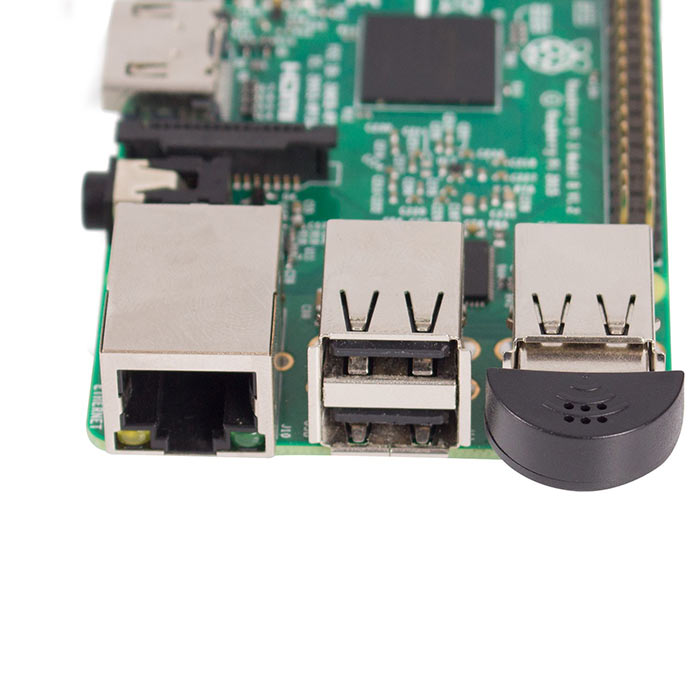 Mini USB 2.0 Microphone MIC Audio Adapter Plug and Play for Raspberry Pi, Voice Recognition Software