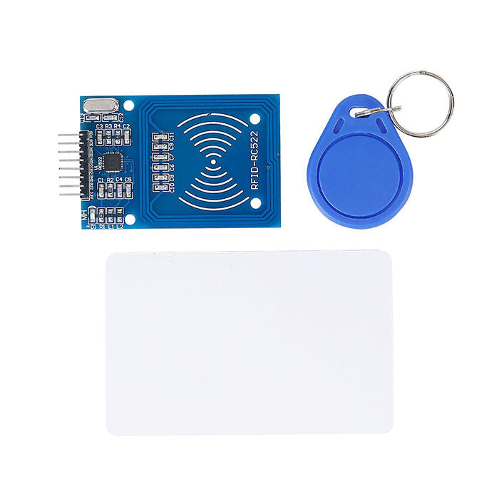 SunFounder RFID Kit for Arduino Raspberry Pi With Mifare RC522 RFID Reader Module S50 White Card and Key Ring