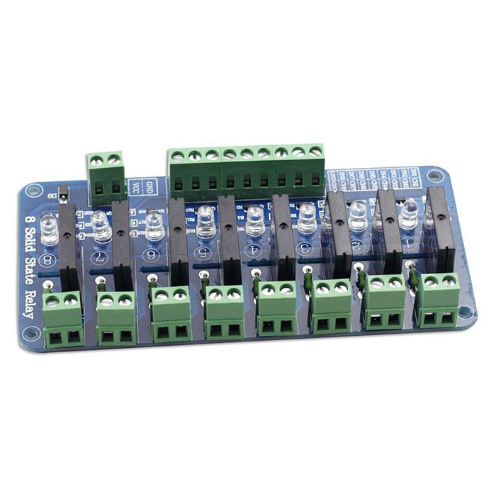 5V 8 Channel Solid State Relay