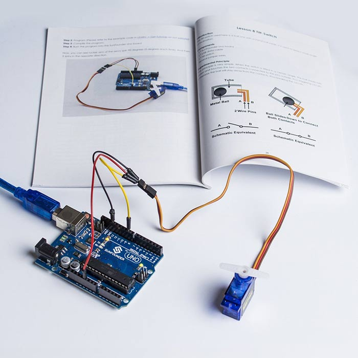 SunFounder Basic Starter Kit V2.0 for Arduino