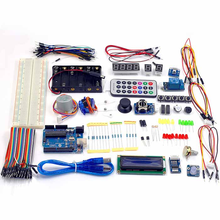 SunFounder Starter Kit from Knowing to Utilizing for Arduino V2.0 with Uno R3 Board
