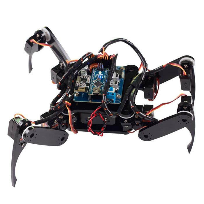 SunFounder Crawling Quadruped Robot Kit for Arduino